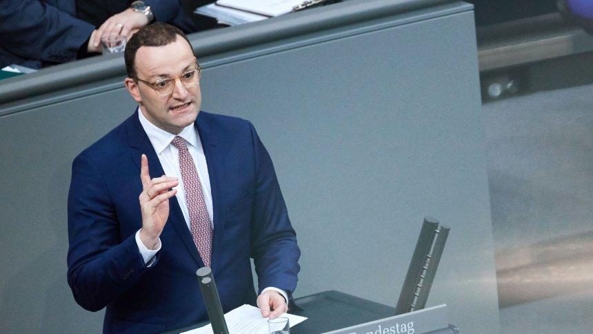 Spahn verteidigt Widerspruchslösung im Bundestag