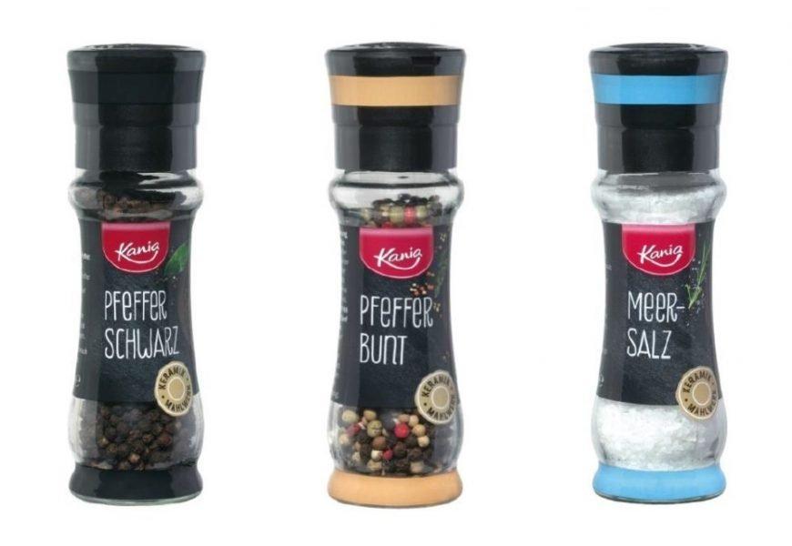 Umfassender Rückruf wegen Glassplitter in diesen Salz- und Pfefferstreuern von Lidl