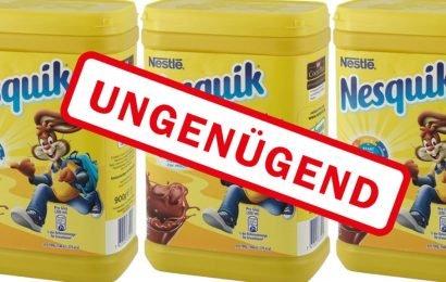 Nesquik Kakao-Pulver bei Öko-Test gescheitert – Sogar Mineralölrückstände wurden gefunden!