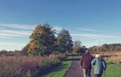 Verbesserter Zugang zu Grünflächen für ältere Erwachsene berücksichtigt werden muss