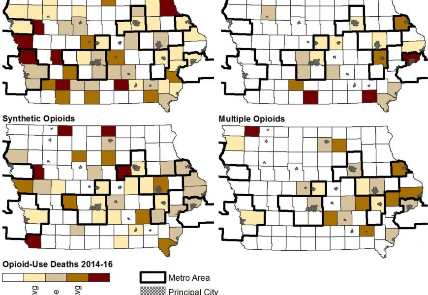 Rezept opioid-überdosierung Todesfälle fallen in Iowa – Kunststoff-und heroin-spike neues Anliegen