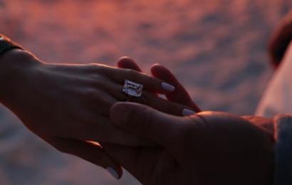 Wie J. Lo hat die Perfekte Engagement Maniküre