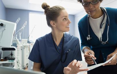 Krankenschwestern sind gut aufgestellt, um in puncto innovation und digitale transformation