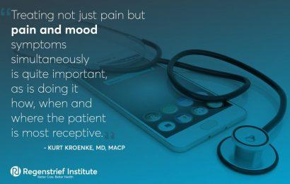 Kombinierte online-self-management für die Schmerzen, die damit verbundene Angst und depression funktioniert