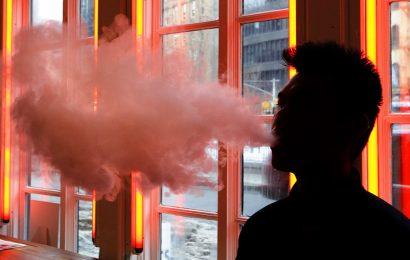 Geht gegen vaping schicken könnte Benutzer zurück zum Zigaretten