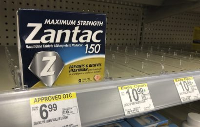 Retail-Riese Wal-Mart Stoppt Verkauf von Zantac und Verwandte Drogen