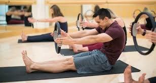 Wie Pilates Wird Formen Sie In Eine Griechische Göttin
