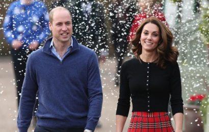Prinz William und Herzogin Kate Zeigen die Atemberaubende Weihnachts-Foto-Karte von Ihrer königlichen Familie!
