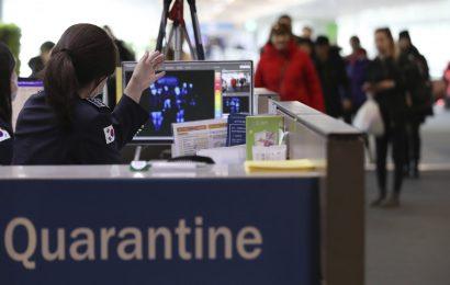 Andere Länder treten in China in Reaktion auf neue coronavirus