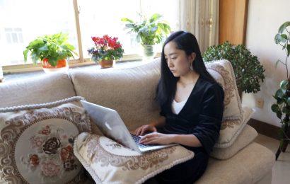 Chinas virus Durchgreifen lässt Millionen zu Hause arbeiten