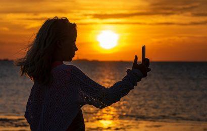 Wenn sich Eltern sorgen machen sollte über teen girls' selfies