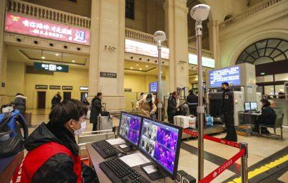 Mapping-app-location-Daten zeigt, wie die virus-Verbreitung in China