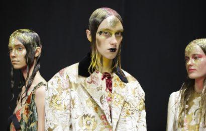 London und Mailand Fashion Week Herbst Beauty-Trends 2020: Einfache Kunst und Neue Handwerke