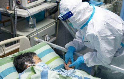 Neues coronavirus infiziert sind 40 Mitarbeiter in Einzel-Wuhan Krankenhaus: Studie