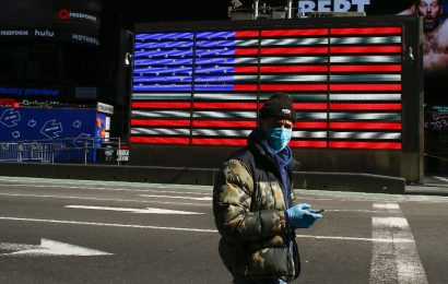 Warum die UNS vielleicht Fragen, die Menschen tragen Masken, um zu kämpfen coronavirus