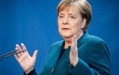 Das Audio-Statement von Angela Merkel am 1. April 2020