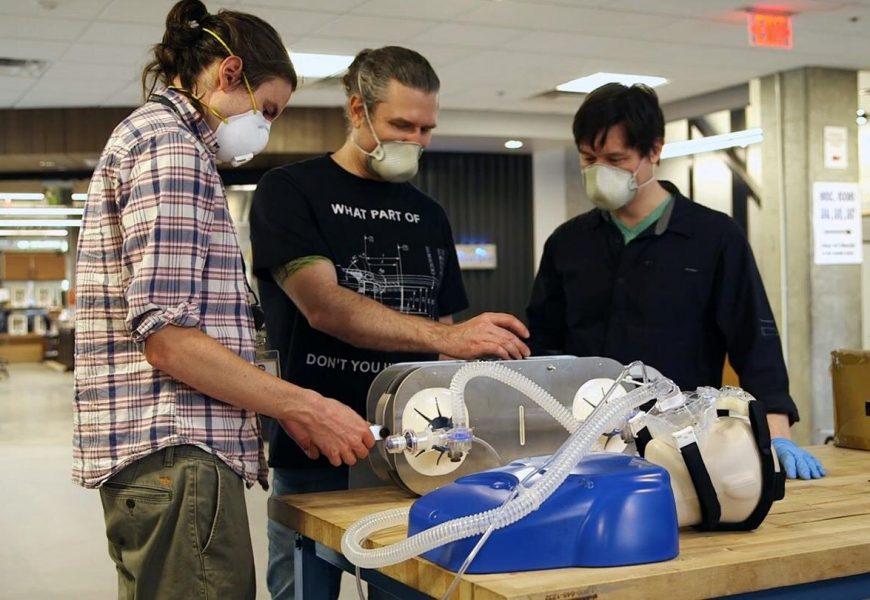 Einfache, low-cost-ventilator baut auf verfügbaren Beatmungsbeutel