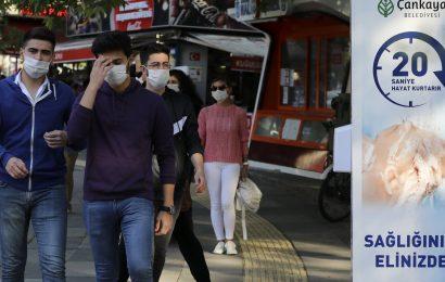 Die Türkei sieht Anstieg der täglichen coronavirus Fällen nach Lockerung