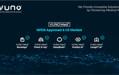 Medizinische AI-Lösungen Unternehmen VUNO erhält CE-Zeichen für die fünf Lösungen