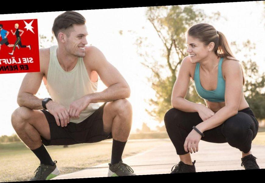 Männer laufen sich krank – Frauen gehen es entspannter an